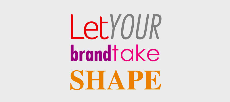 shape your brand story - clearlyblue